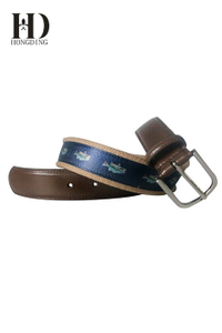 Mens Webbing Canvas Belt