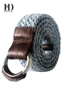Fabric Mens belts with D Ring Buckle for your Jeans