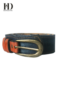 Mens Leather Fabric Belts