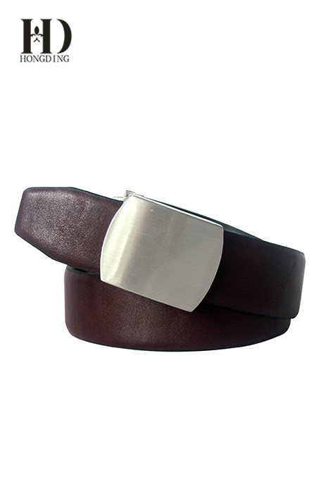 Men's Leather Belt without Buckle