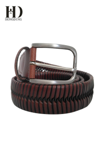 Men's Braided Belt Leather Belts