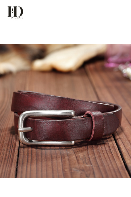 Best seller color genuine leather belts for women