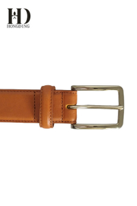 Designer Yellow leather belts for men