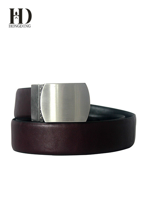 Men's PU Dress Belt in Brown
