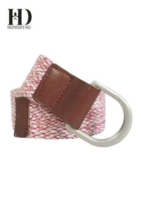 Elastic Webbing Belts for Men