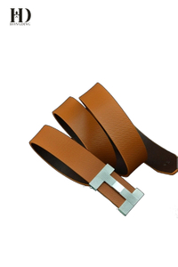 HongDing Multicolor PU Split Cowhide Leather Belts with Alloy Slide Buckle for Men