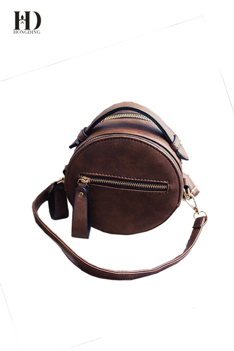 Multicolor Round Shoulder Bags
