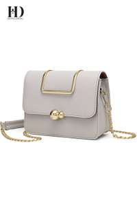 New Light grey fashion chain messenger bag shoulder bag for women